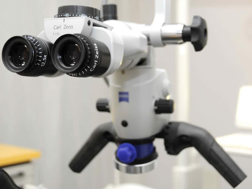 Zeiss OP Mikroskop Zahnarzt Freising